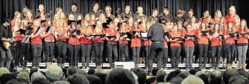 Teeniechor Schirmitz - Konzert Stadthalle Neustadt